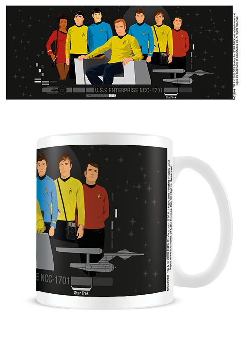 Star Trek  Characters - Coffee Mug
