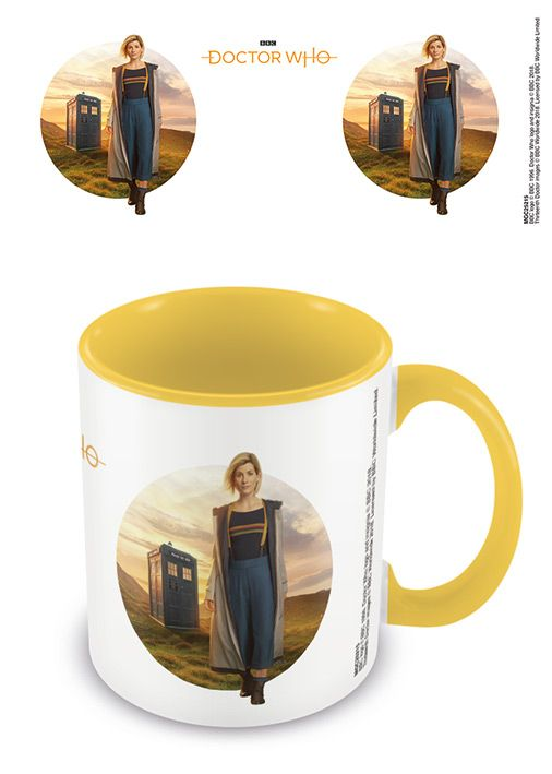 Dr Who 13th Doctor - Yellow Interior - Coffee Mug