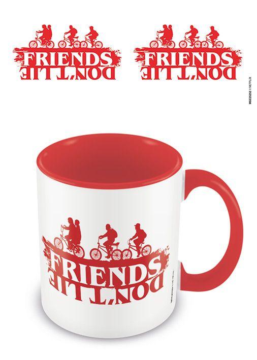 Stranger Things - Friends Don't Lie - Red Interior - Coffee Mug
