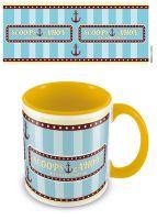 Stranger Things - Scoops Ahoy - Yellow Interior - Coffee Mug