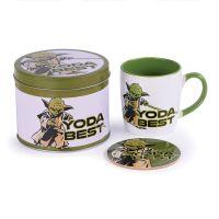 Star Wars - Yoda Best - Coffee Mug, Coaster And Tin