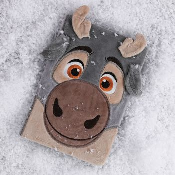 Frozen Baby Sven A5 Notebook - Furry Cover