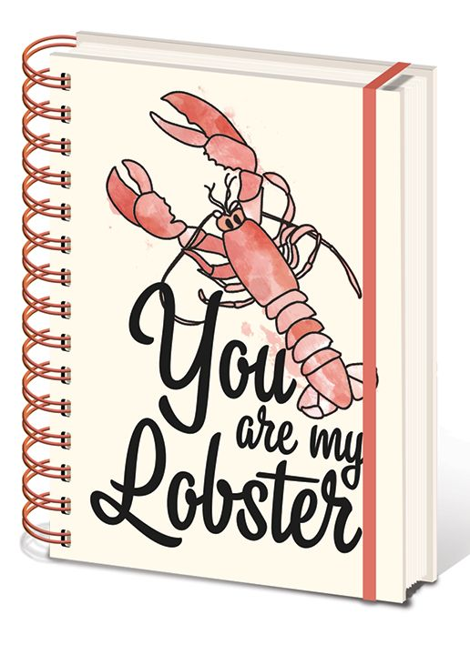 Friends A5 Notebook - You Are My Lobster