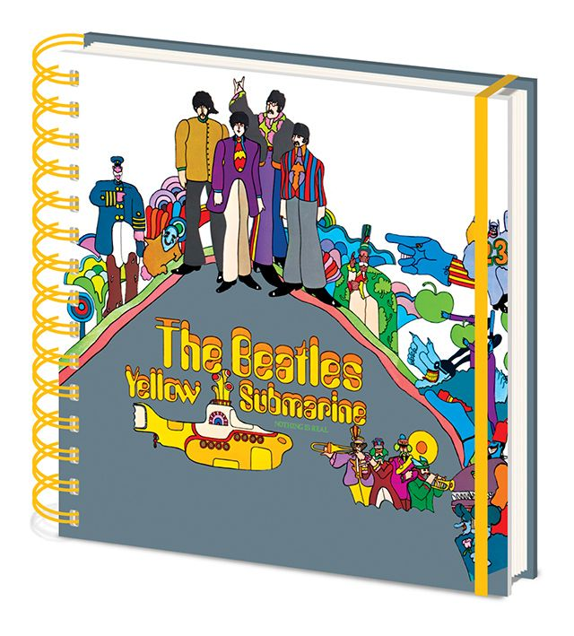 The Beatles - Yellow Submarine - Square Small Notebook