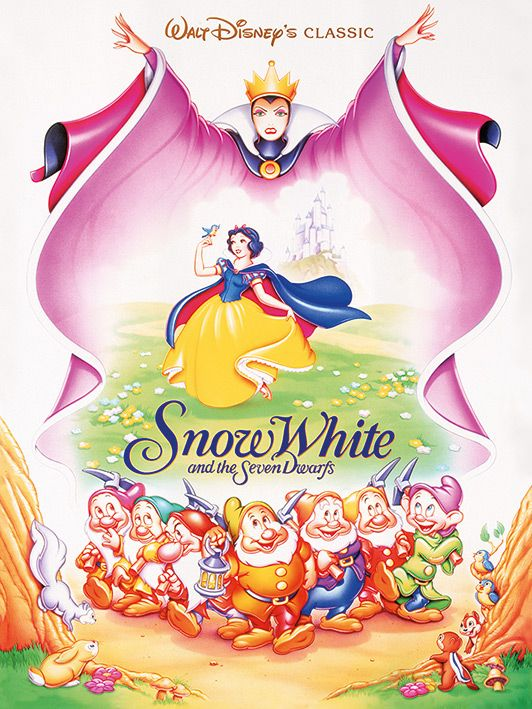 Snow White Evil Queen - Walt Disney's Classic Poster - Canvas Wall Art