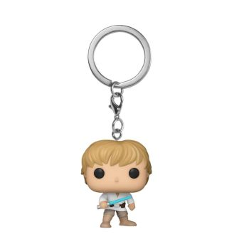 Star Wars - Luke Skywalker - Mini Funko Pocket Pop Keyring Keychain