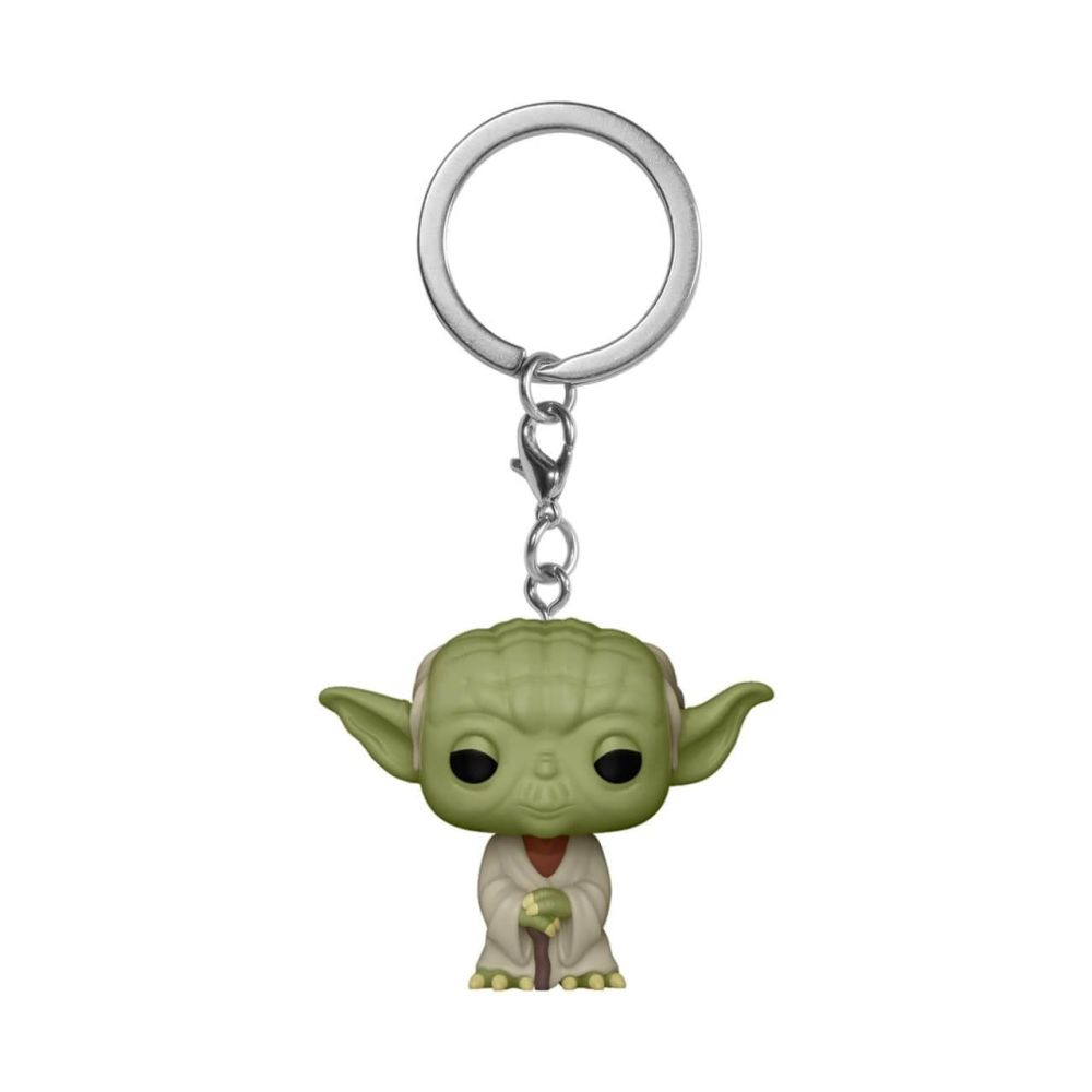 Star Wars - Yoda - Mini Funko Pocket Pop Keyring Keychain
