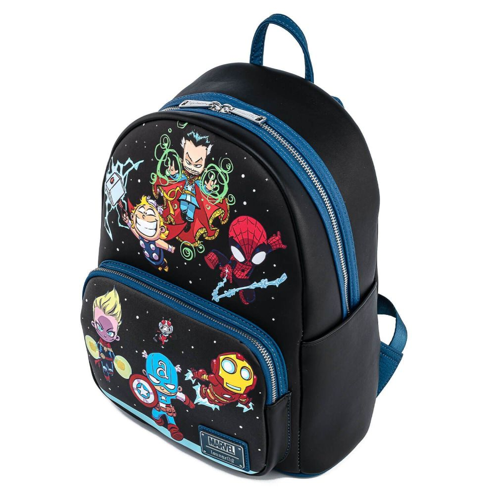 Loungefly Skottie Young Marvel Heroes Chibi Mini Backpack