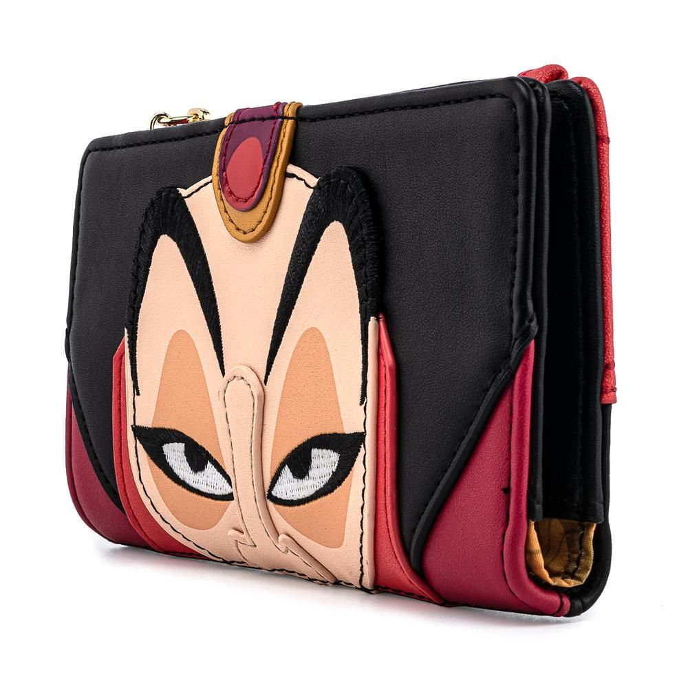 Disney - Disney Aladdin Jafar Cosplay Flap Wallet Purse