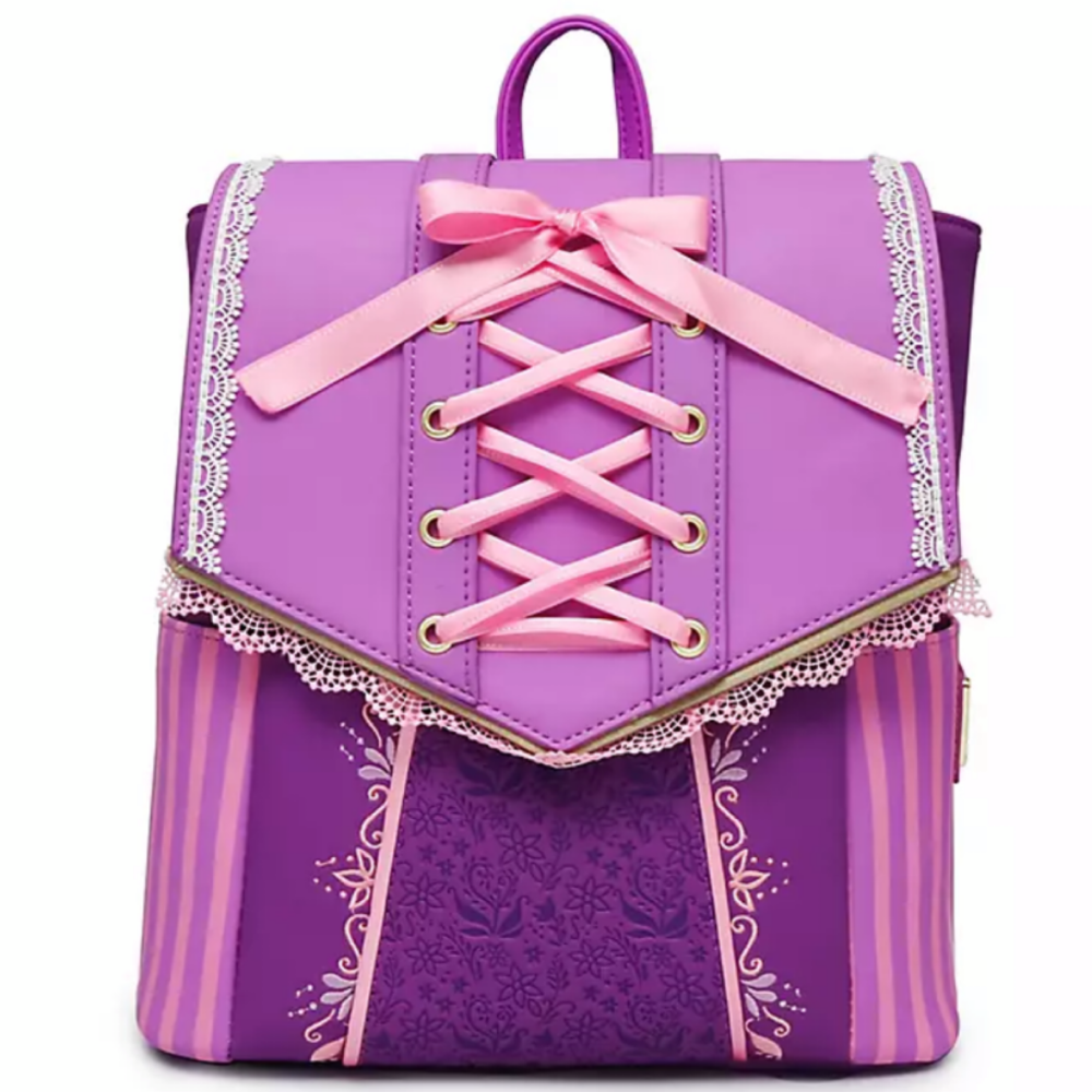 Rapunzel Dress Cosplay Loungefly Mini Backpack Bag