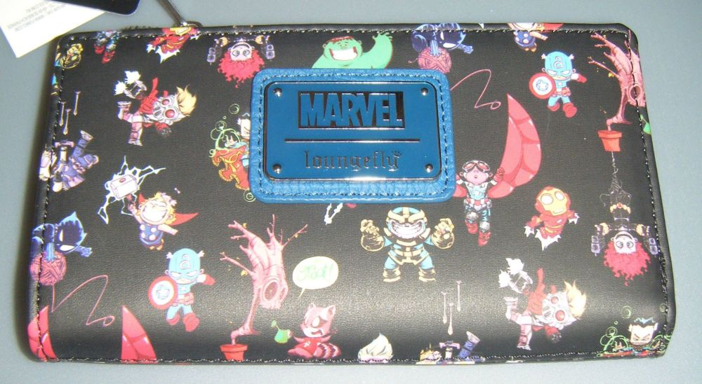 Skottie Young Marvel Chibi Loungefly Wallet