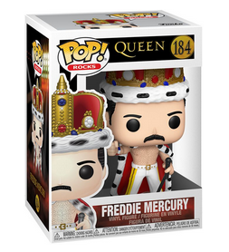 Queen - Freddy Mercury - Funko Rocks Pop 184