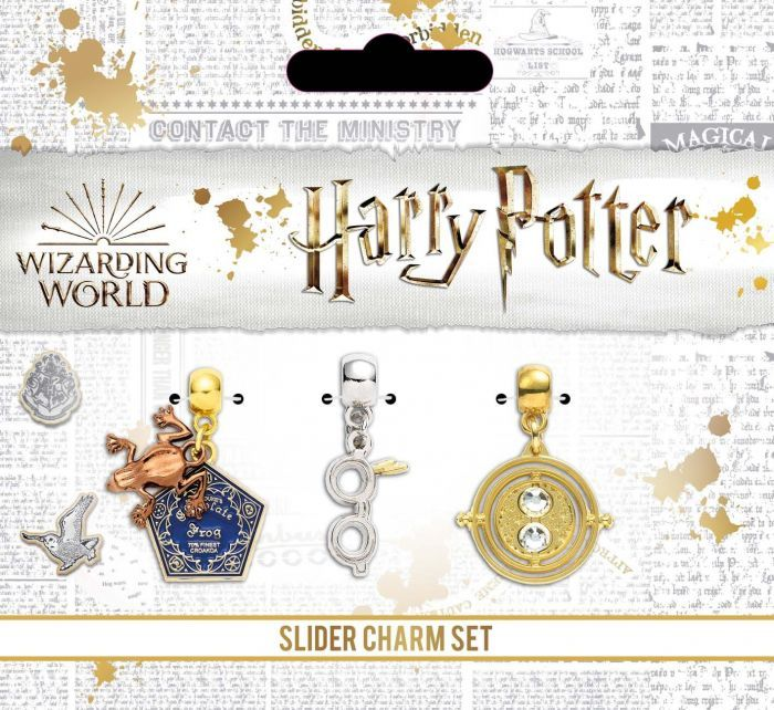 Harry Potter - Golden Snitch/Deathly Hallows/Love Potion/Platform 9 3/4 Sli