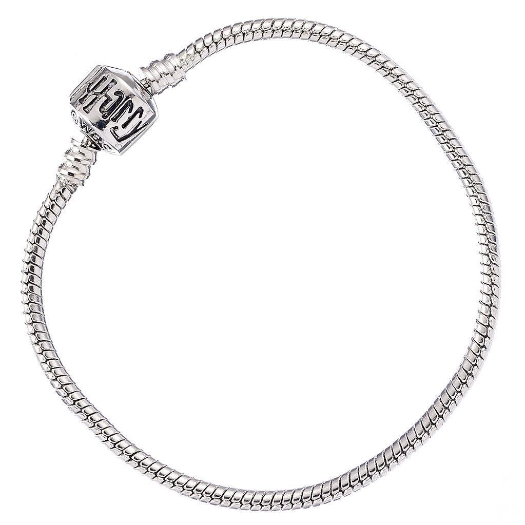 Harry Potter - Silver Plated Bracelet for Slider Charms 17cm Long