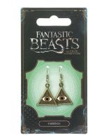 Fantastic Beasts - Triangle Eye Earrings