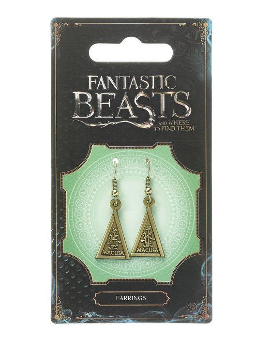 Fantastic Beasts - Macusa Earrings