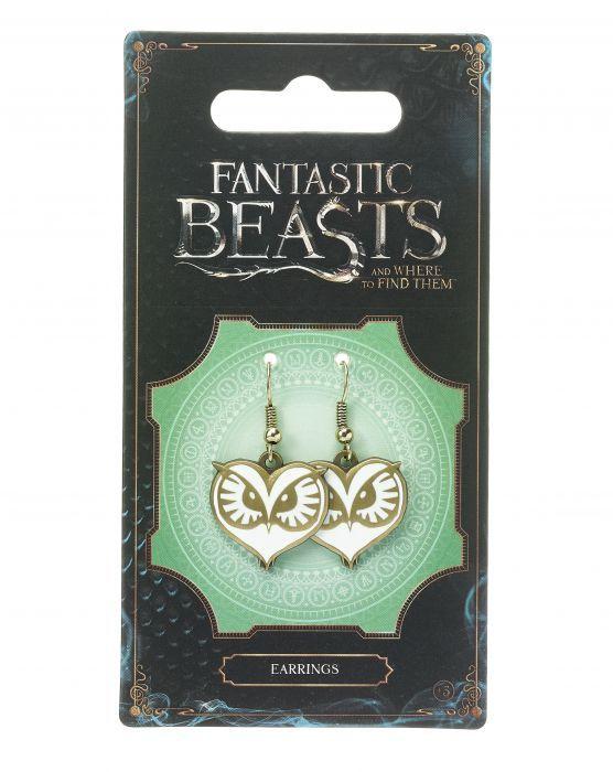 Fantastic Beasts - Owl Face Earrings