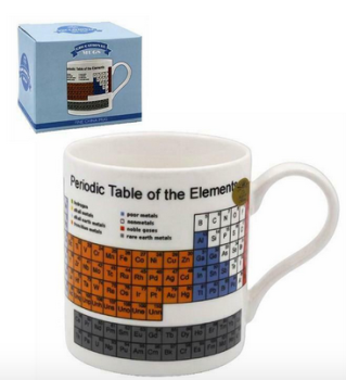 Educational Coffee Mug  Periodic Table