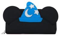 Disney - Fantasia Mickey Sorcerer Cosplay Zip Round  Wallet Purse