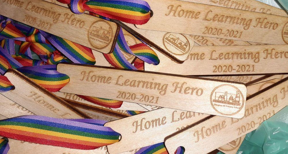 Custom Order PTA School Wooden Bookmark
