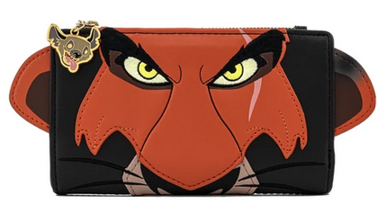 Scar Lion King Cosplay Loungefly Flap Wallet Purse