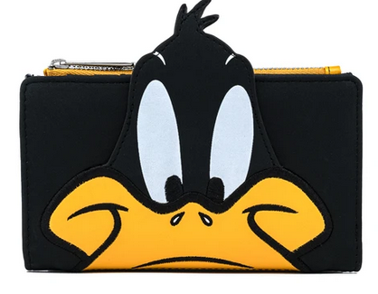 Daffy Duck Cosplay Loungefly Flap Wallet Purse