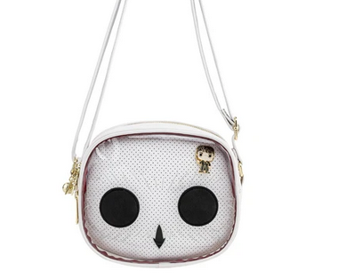 Harry Potter  - Hedwig Pin Trade - Crossbody Bag by Loungefly