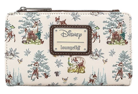 Bambi Scenes Loungefly Flap Wallet Purse