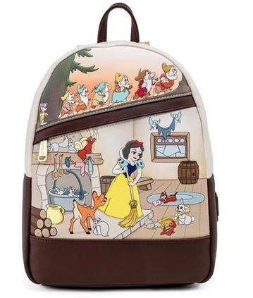 Snow White & Seven Dwarfs Loungefly Mini Backpack Bag