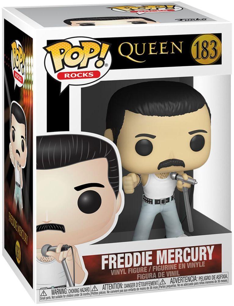 Queen - Freddie Mercury - Funko Rocks Pop 183