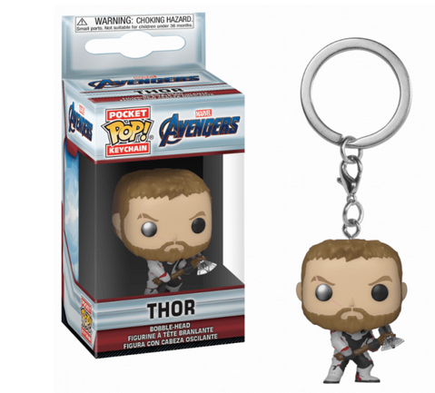 Avengers - Thor - Mini Funko Pocket Pop Keyring Keychain