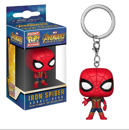 Avengers Infinity War - Iron Spider - Mini Funko Pocket Pop Keyring Keychain