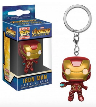 Avengers Infinity War - Iron Man - Mini Funko Pocket Pop Keyring Keychain