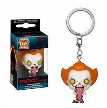 IT Pennywise Funhouse - Mini Funko Pocket Pop Keyring Keychain