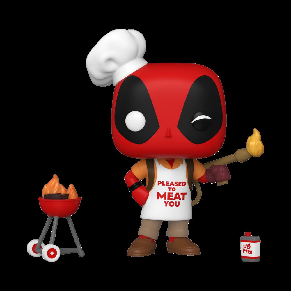 Deadpool Backyard BBQ Griller 30th Anniversary - Funko Pop 823