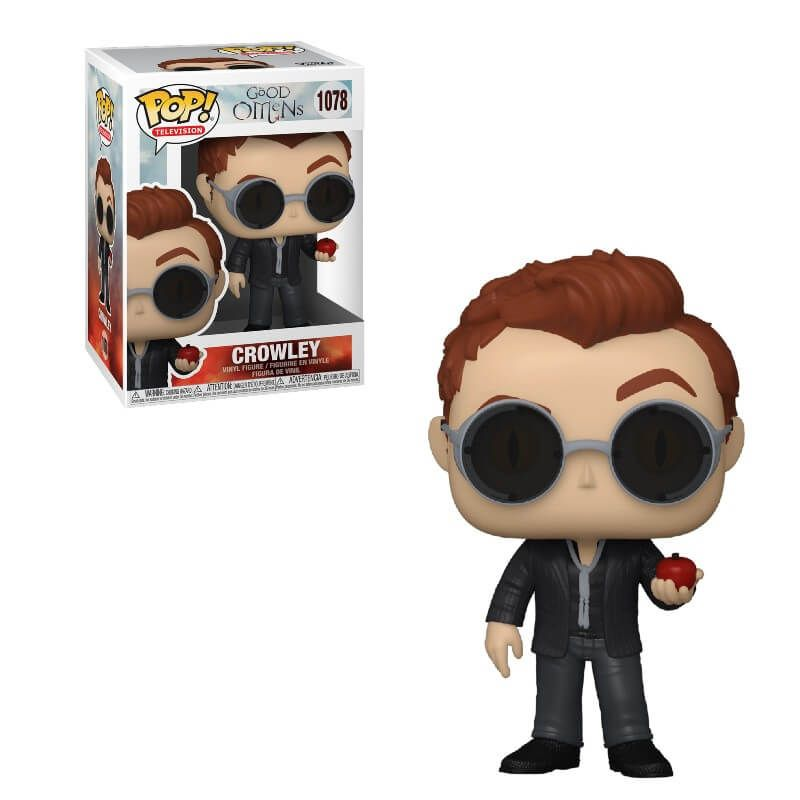 Good Omens - Crowley with Apple - Funko Pop 1078