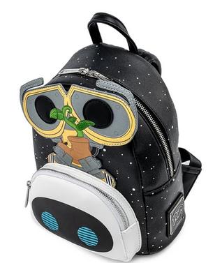 Wall-e And Eve Earthday Bag  - Loungefly Mini Backpack