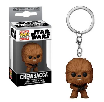 Star Wars - Chewbacca - Mini Funko Pocket Pop Keyring Keychain