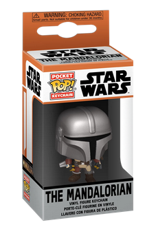 Star Wars - The Mandalorian - Mini Funko Pocket Pop Keyring Keychain