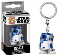Star Wars - R2-D2 - Mini Funko Pocket Pop Keyring Keychain