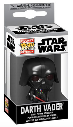 Star Wars - Darth Vader - Mini Funko Pocket Pop Keyring Keychain