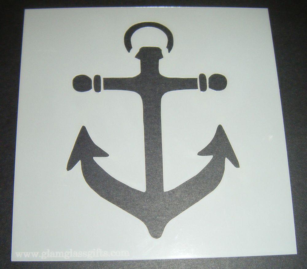 Anchor Design Cake Craft Stencil