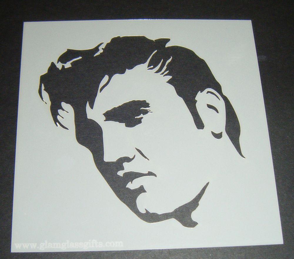Elvis Design 4 Cake Craft Stencil
