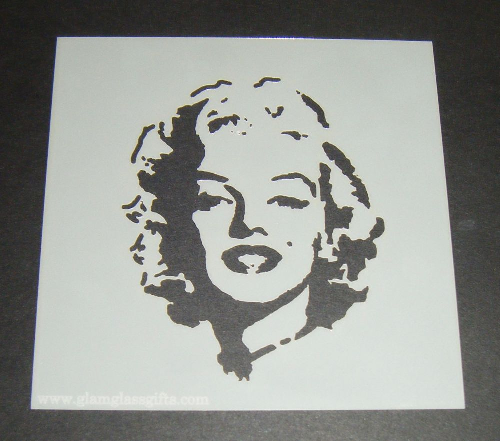 Marilyn Monroe Design 2 Cake Craft Stencil