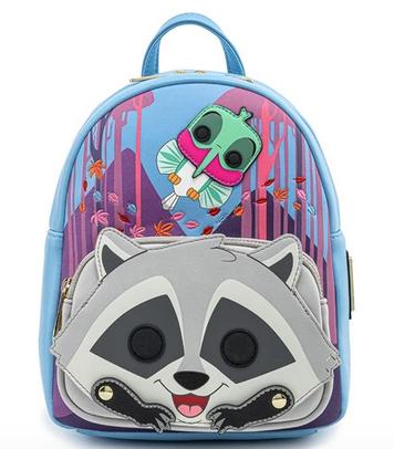 Loungefly Disney Pocahontas Meeko Flit Cosplay Mini Backpack Bag