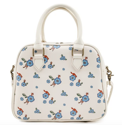 Fox And Hound Floral Loungefly Crossbody Bag
