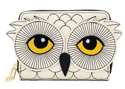 Harry Potter Hedwig Cosplay Loungefly Zip Around Purse Wallet