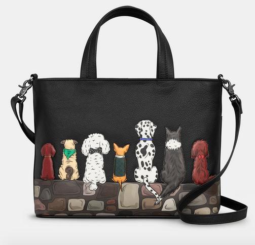 Bark to Bark Dog Leather Multiway Grab Bag