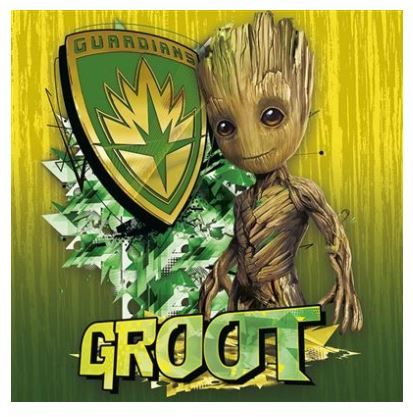 Guardians of the Galaxy - Groot Canvas Wall Art