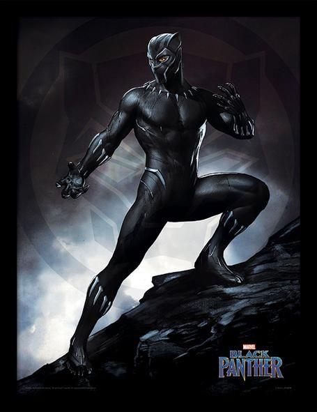 Marvel Black Panther - Framed Print Wall Art